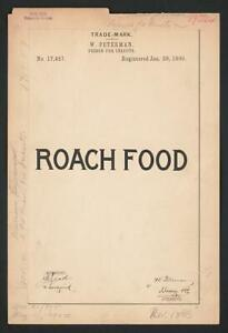 Photo: W. Peterman for Roach Food brand Poison for Insects 4793