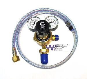 MIG Welding ARGON CO2 Gas Regulator with Hobby Welder Adaptor Hose Kit