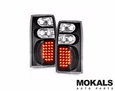 black LED tail lights for Holden Commodore VT VX VU VY VZ ute 1998-2006 pair