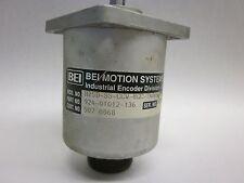 BEI Rotary Encoder P/N 924-01012-136 MOD# H25D-SS-CCW-8GC-7406-LED-EM20-S