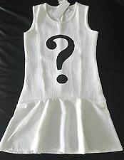 8a17d62528a7c TREND Robe patineuse évasée buste sequins paillettes blanc noir FUN   FUN 14  ans