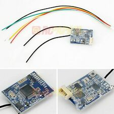 FrSky XSR 16CH 2.4Ghz ACCST Receiver RX Smart Port SBUS CPPM FREE Silicon cable
