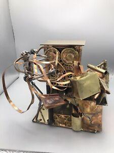 1991 Signed Unique Joseph Romano Mix Metal Art Sculpture Mad Scientist