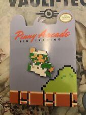 Pinny Arcade PAX Luigi Jump (Super Mario Bros) Penny Arcade Pin