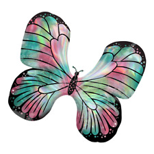 Flying Butterfly Shaped Iridescent Big Foil Balloon Birthday Party Decorations