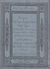 K373-BOLOGNA-S.ANTONIO DI MEDICINA ATTO CON MAPPA CATASTALE 1836