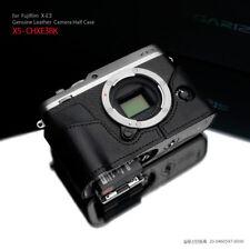 Gariz Half Case in pelle Nera-black per Fujifilm X-E3