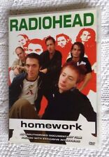 RADIOHEAD: HOMEWORK (DVD) R-ALL, LIKE NEW, FREE POSTAGE WITHIN AUSTRALIA