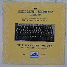 "10"" vinyl  record GLASGOW ORPHEUS CHOIR vol 2 DLP 1020 EX/EX"