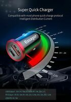 Quick Charge 4.0 3.0 USB Car Charger For IPhone 11 Pro Max Type C PD Fast Charge