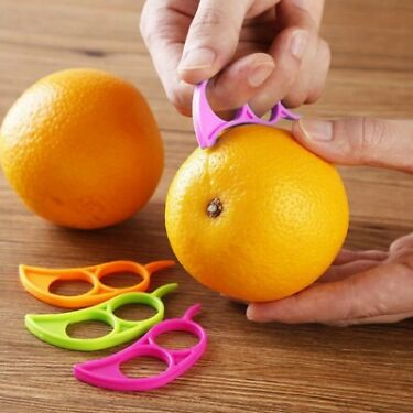 1PCS Creative Orange Peelers Zesters Lemon Slicer Fruit Stripper Easy Opener
