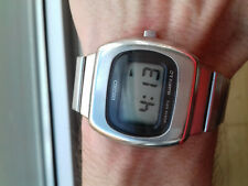 Seiko VINTAGE(1977)DIGITAL WITH CROWN 0532-5029 WATCH MONTRE COLLECTOR TOP RARE