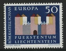 Liechtenstein Scott #390, Single 1964 Complete Set FVF MH