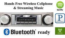 66-67 El Camino AM FM Bluetooth New Stereo Radio iPod USB, Aux inputs, 300 watts