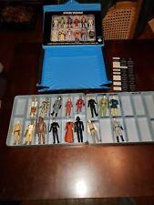 Vintage Star Wars Kenner action figures LOT with Case 16 figures!