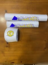 Old school 86 GT Performer Bmx Freestyle Nylon Pads White