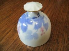 "Vtg Danbury Mint-Fukagawa 3 1/2"" Tall Fine Porcelain China Bell- Arita, Japan"