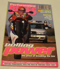 Performance Bikes 1/97 Suzuki GSX-R400R Saxon Triumph Triple, Honda NSR500, NC30