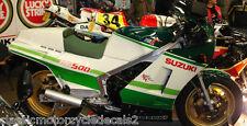 Suzuki RG500 Skoal bandido réplica restauración DECAL set