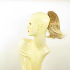 Postiche queue de cheval femme 28 cm blond clair cuivré blond clair 9 en 27t613