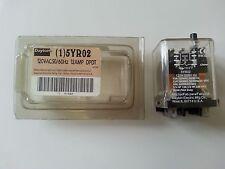DAYTON 5YR02 120 VAC 50/60 HZ 15 AMP DPDT 8 PIN RELAY