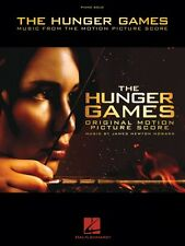 The Hunger Games Sheet Music from the Motion Picture Score Piano Solo  000316688