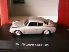 FIAT 750 ABARTH COUPE SILVER 1956 STARLINE 517430 1/43 ARGENTE SILBER