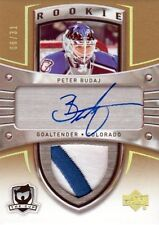 05-06 The Cup AUTO ROOKIE PATCH xx/31 Made! Peter BUDAJ #117 - Avalanche
