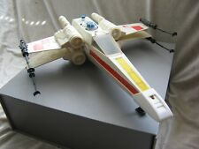 COMPLETE X-Wing Fighter vehicle Star Wars Kenner 1977 Works w/ cannons / canopy