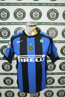 maglia calcio shirt maillot camiseta trikot INTER MATERAZZI TG S NUOVA NEW 05/06