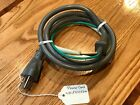 GE Genuine General Electric Microwave Oven Power Cord WB18X27449, WB18X10524 photo
