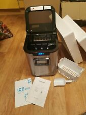 2,3L Eiswürfelmaschine Eiswürfelbereiter Eismaschine mit Eisschaufel und Korb