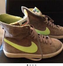 sneakers donna NIKE Nr 37,5 Nuove In Camoscio Alte