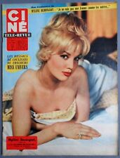 ►CINE REVUE 32/1959-MYLENE DEMONGEOT-JEFF CHANDLER-LANA TURNER-SUSAN HAYWARD...