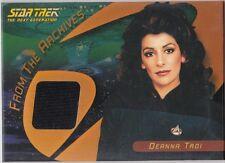 STAR TREK 40TH ANNIVERSARY C11 DEANNA TROI THE NEXT GENERATION BLACK COSTUME