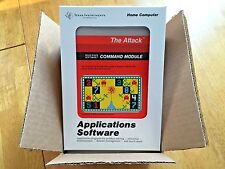 THE ATTACK  for the Texas Instruments TI 99/4a Computer - NEW FRESH CASE -NIB