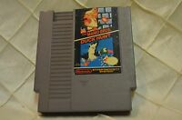 Super Mario Bros. Duck Hunt 1985 NES cartridge only Original Nintendo
