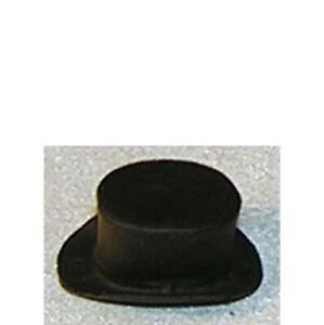 VERY TINY Top Hat 227962 Island Crafts Metal Dollhouse Miniature