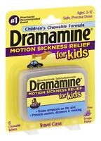 Dramamine Motion Sickness Relief for Kids 8 count each