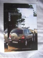 Renault Scenic rx4 Prospectus/Brochure/DEPLIANT, POLSKA/POLOGNE/POLAND