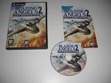 Blazing Angels 2 PC CD ROM secretos misiones de la segunda guerra mundial-Versión Original Post rápido