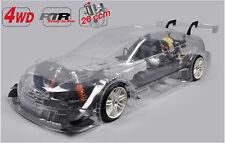 FG Modellsport # 154159 4WD 530 chassis Audi RS5 non peint 26 ccm sans étincelle