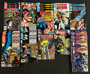BATMAN 219 PCS MODERN AGE LOT/RUN WITH DUPES (VF/NM)