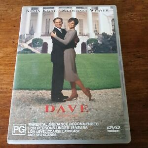 Dave DVD Kevin Kline R4 VERY GOOD - FREE POST