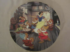 The Dance Of Snow White And The Seven Dwarfs collector plate