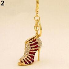 HIGH HEEL Shoe boot metal keyring keychain handbag charm gift present - New