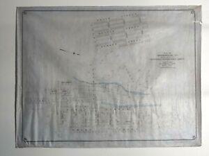 Survey Plat of Graniteville Mill of Graniteville, South Carolina Aiken Edgefield