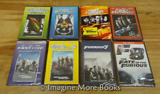 The Fast & and the Furious ~ 8 NEW/SEALED DVDs ~ Fast & Furious 1 2 3 4 5 6 7 8
