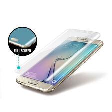 Para Samsung Galaxy S6 Edge cubierta de pantalla completa de TPU Templado Film Protector de pantalla