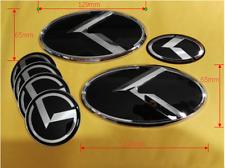 7pcs/set 3D k Logo Emblem Sticker for KIA new Forte YD K3 2014 2015